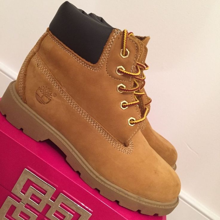 Timberland 6-inch Boots Size 2 Youth #Timberland #Boots