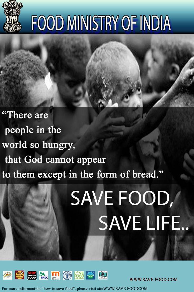 Save FOOD,save LIFE.