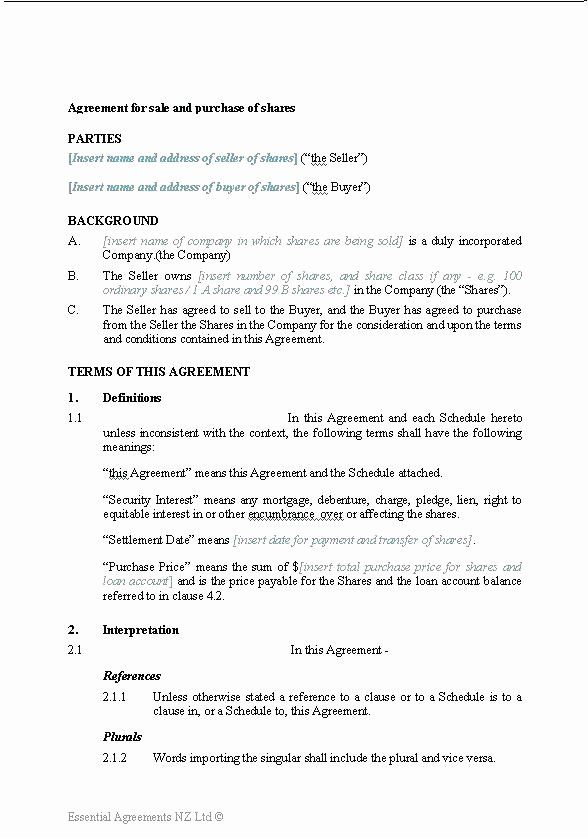 Business Sale Contract Template In 2020 Contract Template
