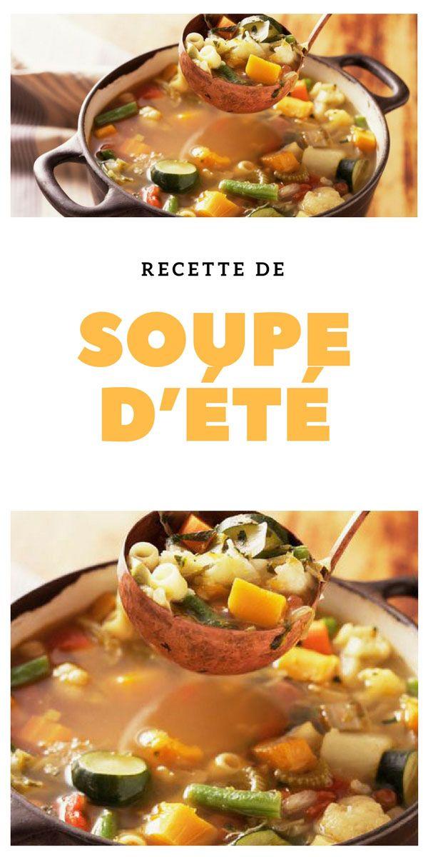 #soupe #été