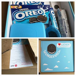 Eine ganze Kiste vegane Oreo Kekse gewonnen
