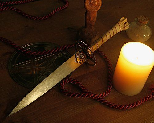 Tools of the Trade: Circles, Tools, Pagan Pagan, Bones Handles, Witches Witches, Atham Pagan, Wicca, Swords, Silken Cords
