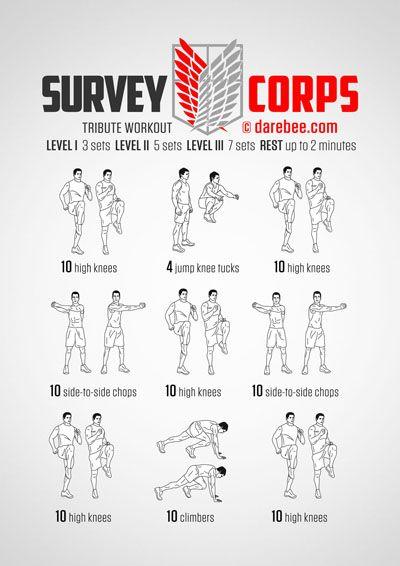 Survey Corps Workout