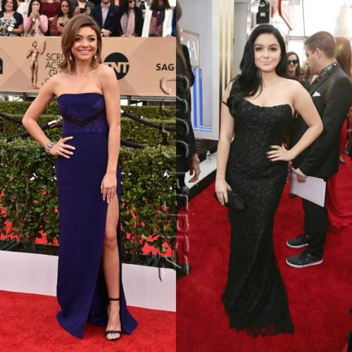 Ariel Winter tells fans who spotted breast reduction surgery...