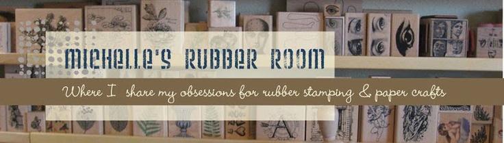 Michelle's Rubber Room: Paper Napkins Transfers
