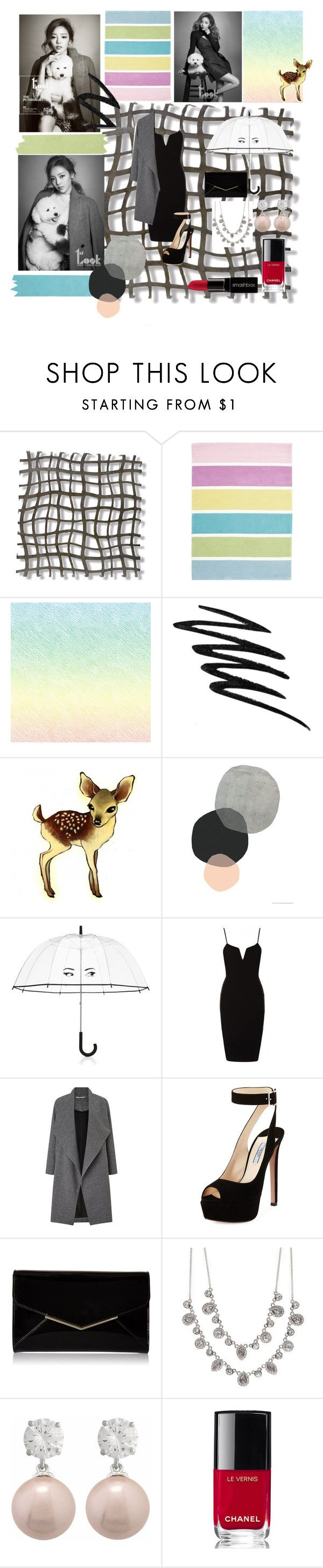 """Goo Ha Ra_""Hit the Lights"""" by taehyung-xo-101 ❤ liked on Polyvore featuring Palecek, Unitex International, Prescriptives, Kate Spade, Miss Selfridge, Prada, Furla, Givenchy, Chanel and Smashbox"