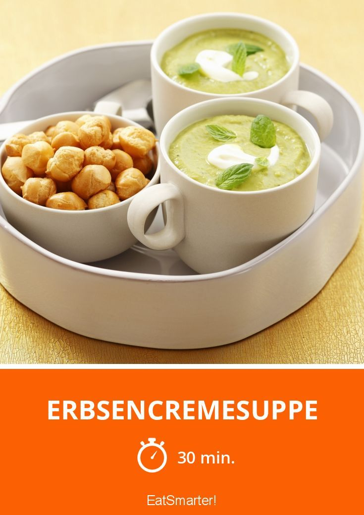 Erbsencremesuppe
