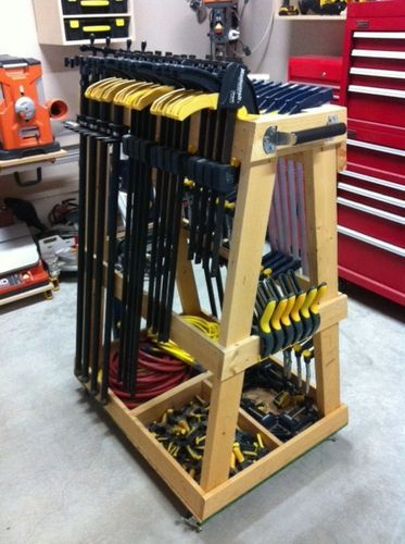 Let's see those clamp collections - by nwbusa @ LumberJocks.com ~ woodworking community