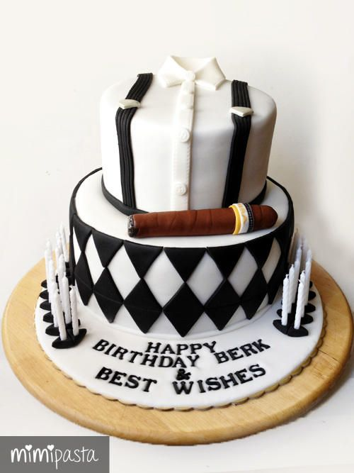 Birthday Cake Images For Males : 17 Best ideas about Birthday Cakes For Men on Pinterest ...