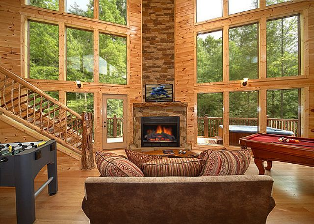34 best images about gatlinburg vacation rentals on for Private cabin rentals in tennessee