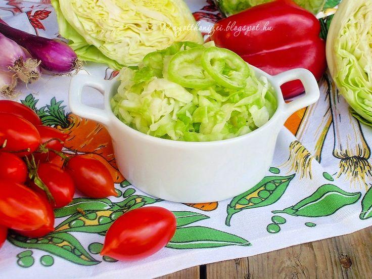 Az otthon ízei: Nyári csípős káposztasaláta
