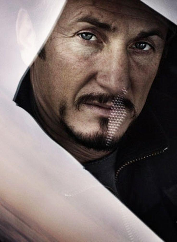 Sean Penn would make a great Huff. He's definitely got the vibe. Those eyes! #WhiteHot
