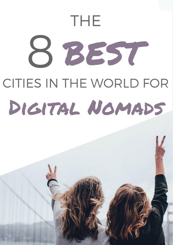 In search of your next travel destination? Try out one of these hotspots for remote workers + best cities in the world for digital nomads!