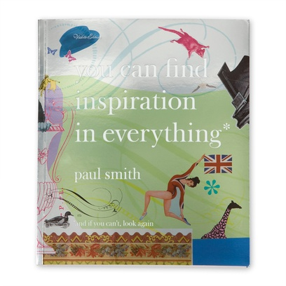 the book by Sir Paul Smith that every designer should own.