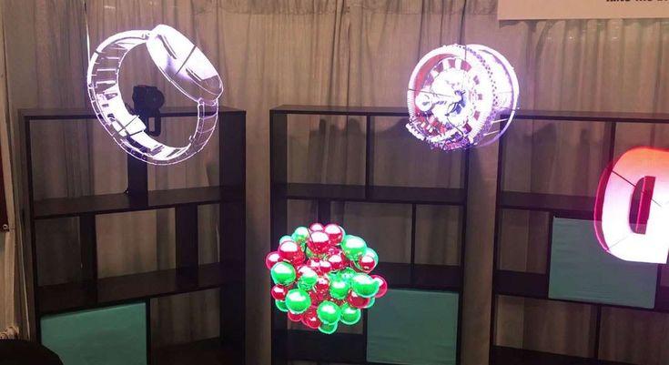 Empresa Kino-Mo cria tecnologia de publicidade holográfica em 3D para lojas - Stylo Urbano #tecnologia #inovação #holograma #holografia