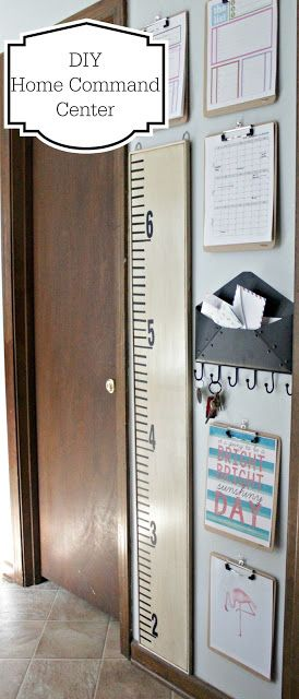 The Fabulous Wife: DIY Home Command Center