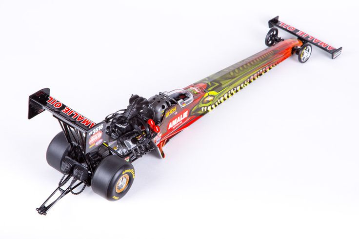 Terry McMillen Die-cast Top Fuel Dragster