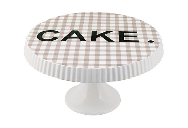 cake plate ginghamKitchens, Gingham Cake, Gingham Foot, Foot Cake, Rae Dunn, Cake Stands, Fun Things, Cake Plates I, Dunn Gingham