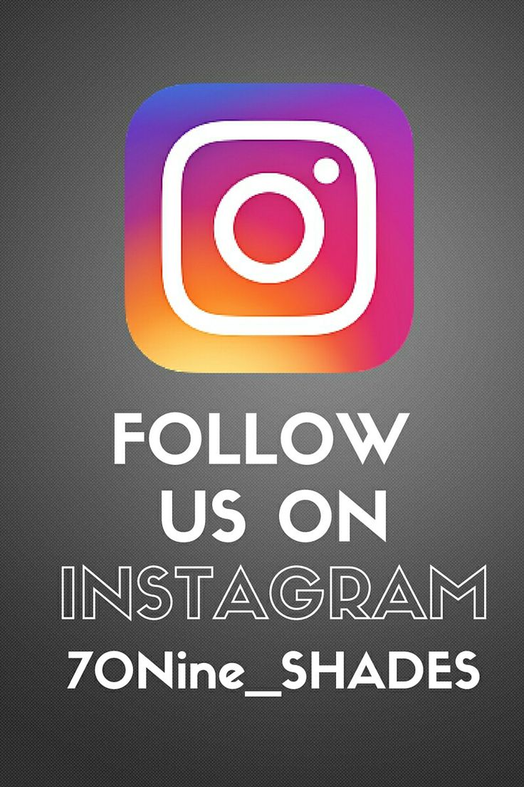 Follow us on Instagram @ 70Nine_SHADES for exclusive weekly features and sneak peaks into our projects