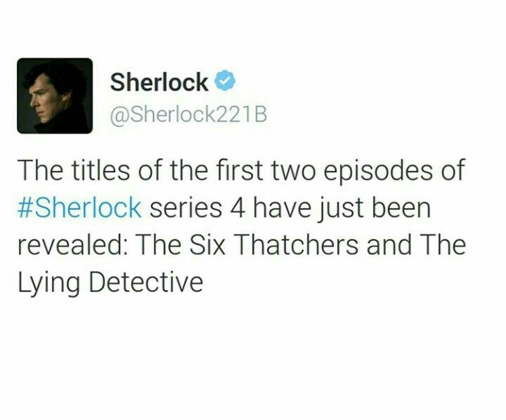 Names of the first two episodes of Sherlock season 4!!!!!