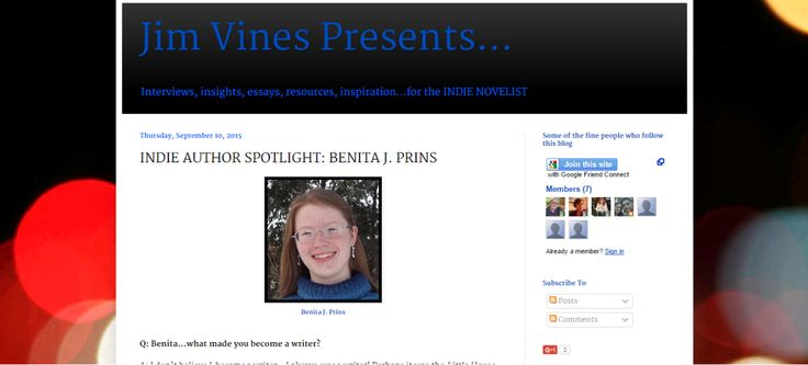 Interview on Jim Vines Presents