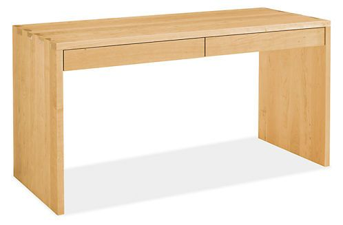 Rowan Desk- Room & Board: Could also be used as an entrance hall table or behind-sofa table