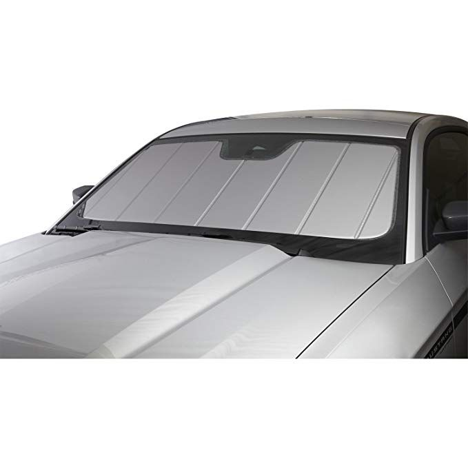 Laminate Material 1 Pack Covercraft UV11431SV Silver UVS 100 Custom Fit Sunscreen for Select Lexus Models