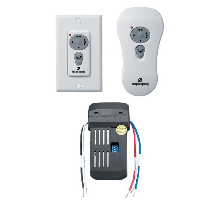 Hunter Ceiling Fan And Light Wireless Remote Control Kit With Receiver