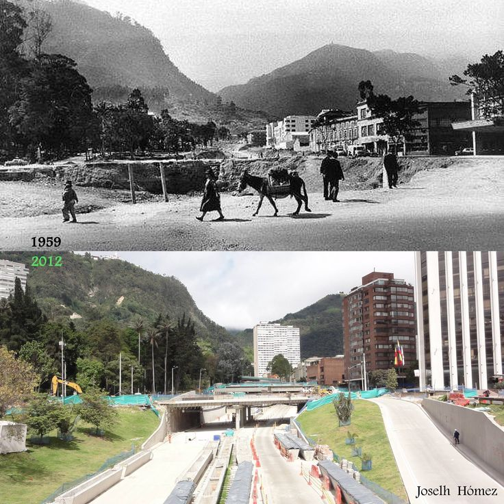 Puentes de la 26 antes y después