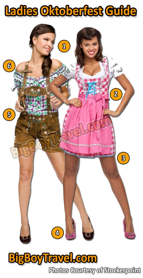 Oktoberfest Clothing Guide For Women