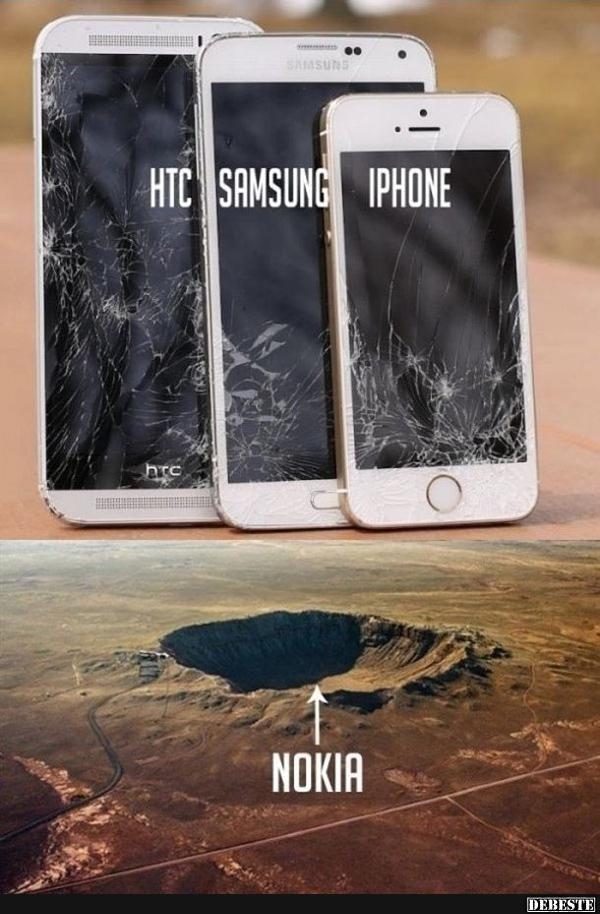 Nokia vs. Smartphones.. | Lustige Bilder, Sprüche, Witze, echt lustig
