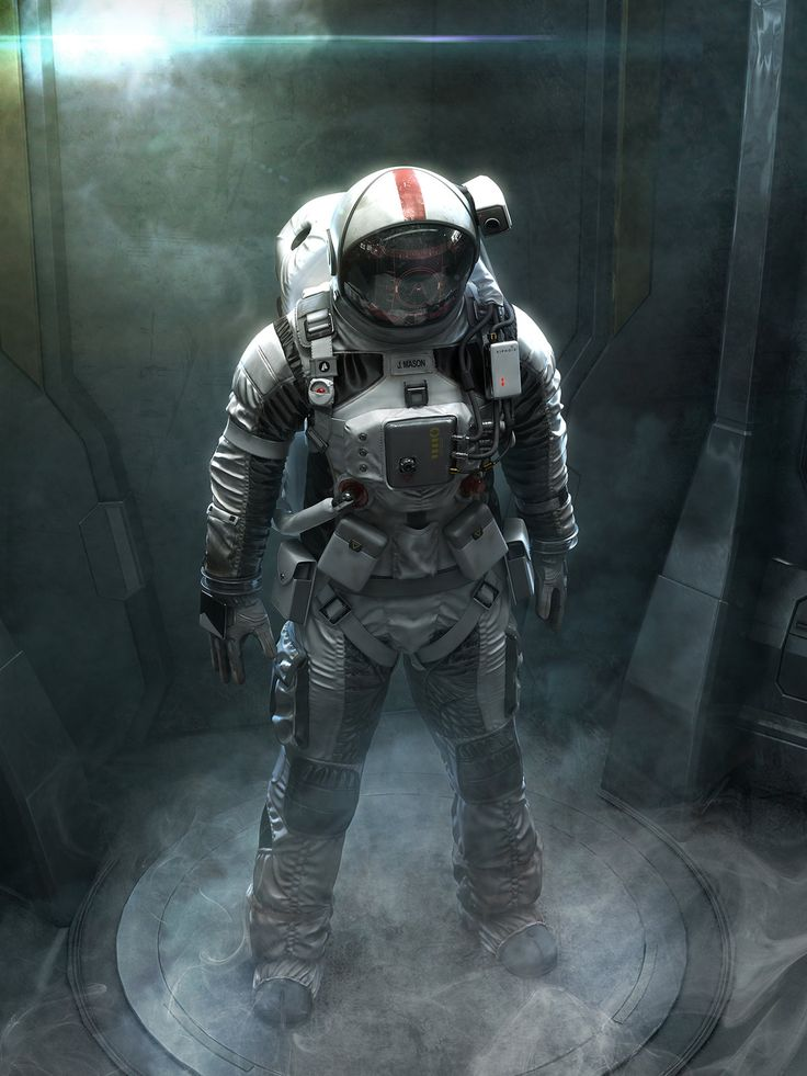 Astronaut01, jeff miller on ArtStation at https://www.artstation.com/artwork/astronaut01