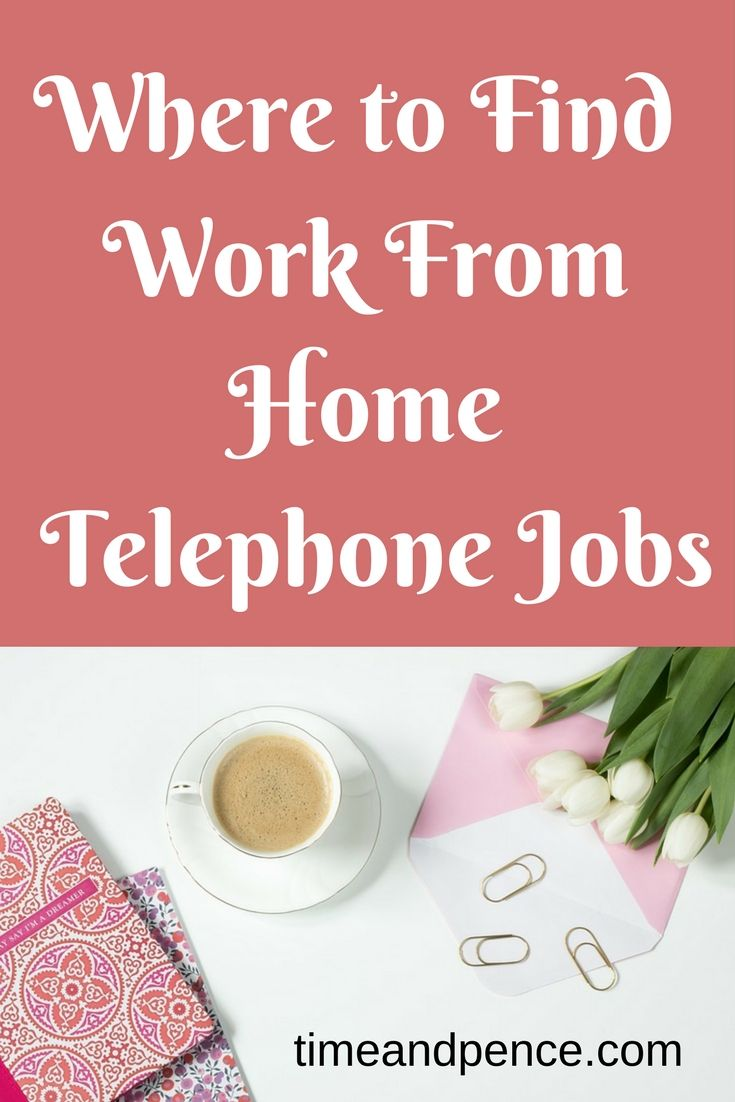 A list of genuine flexible work from home telephone jobs. If you are looking to work from home on the telephone then these are perfect opportunities for you