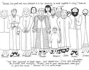 Joseph 39 s Brothers worksheet