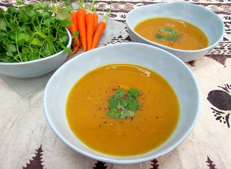 Carrot, Kumara and Potato Soup