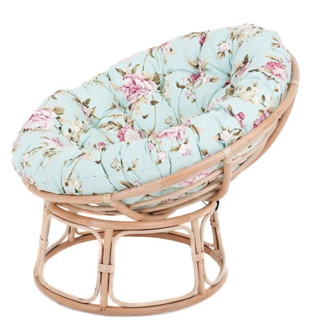 Duck Egg Floral Papasan Chair...always Wanted To Know The Name Of This