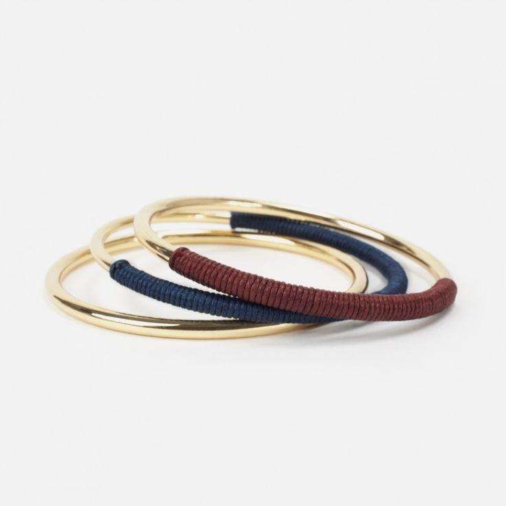 Ensemble de 3 bracelets esprit bohème