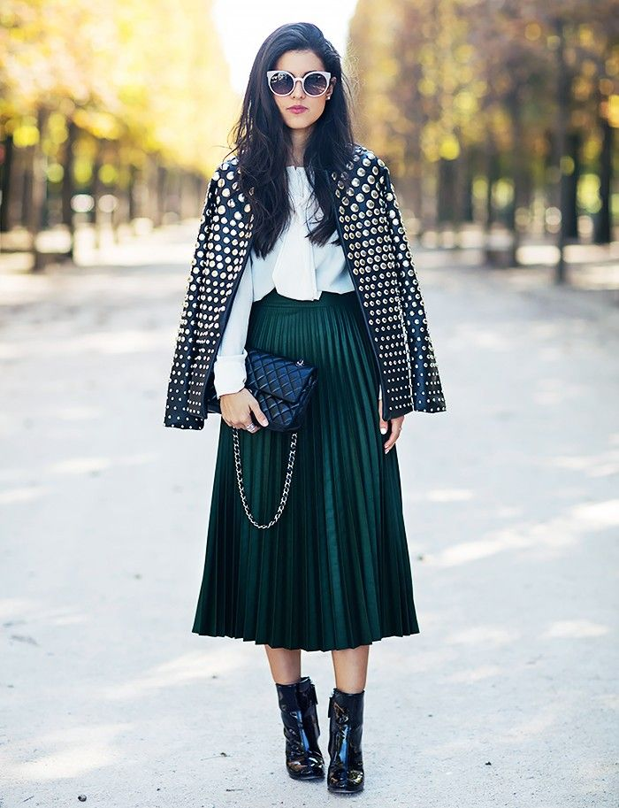 Easy Outfit Tips We Learned From Street Style in 2015 via @WhoWhatWearUK