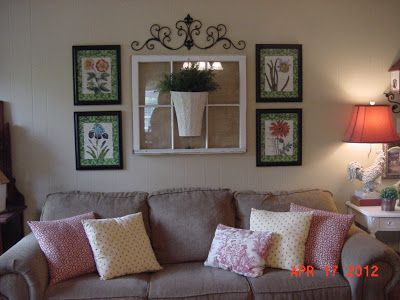 1000 Images About Wall Behind The Couch On Pinterest