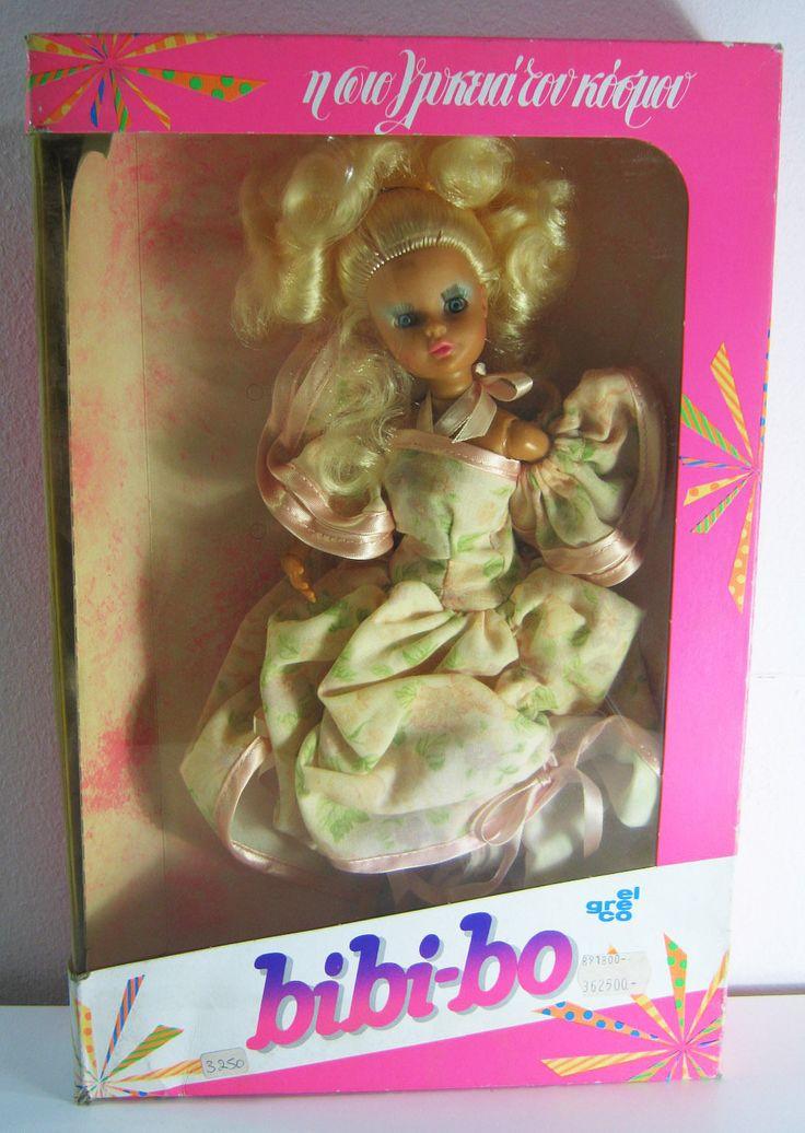 VTG 80s EL GRECO BIBI-BO BIBI BO BIBIBO DOLL SWEET BRAND NEW & UNUSED | $224+15 listed bin