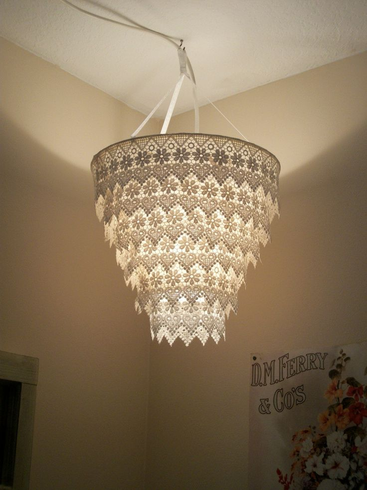 ideas about Lace Lamp Lace Lampshade