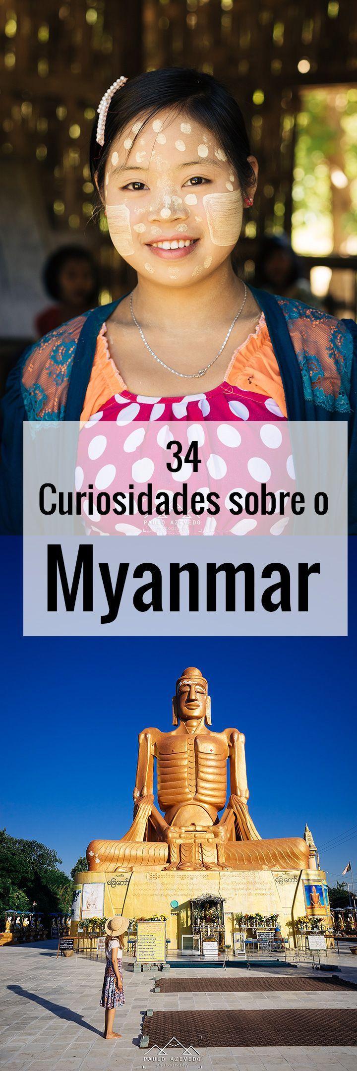 Provavelmente já sabem que o Myanmar se chamou outrora Birmânia, que esteve sob uma ditadura militar até há pouco tempo e que uma birmanesa, a Senhora Aung San Suu Kyi, recebeu o Prémio Nobel da Paz, em 1991, pela sua luta contra o regime opressor. Há, porém, curiosidades que só se podem conhecer no próprio país.