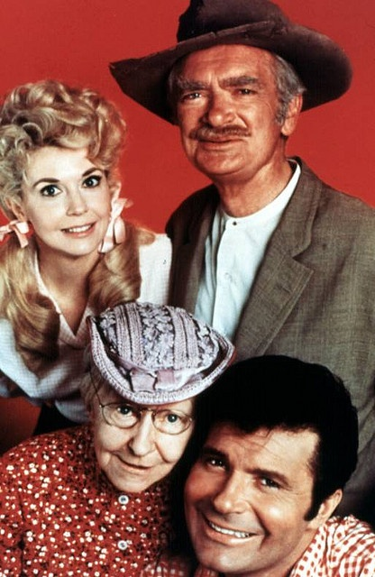 Beverly Hillbillies (Surely smiling about their vittles, Miss Jane, and the cement pond!)  MY GRANDMOTHER LOVED THIS SHOW!!!