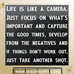 Life is like......