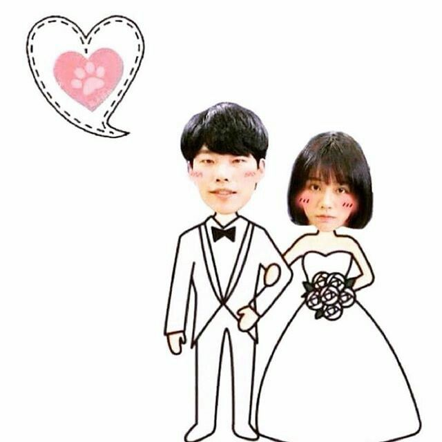 Wedding Jung Hwan Deok Sun #reply1988