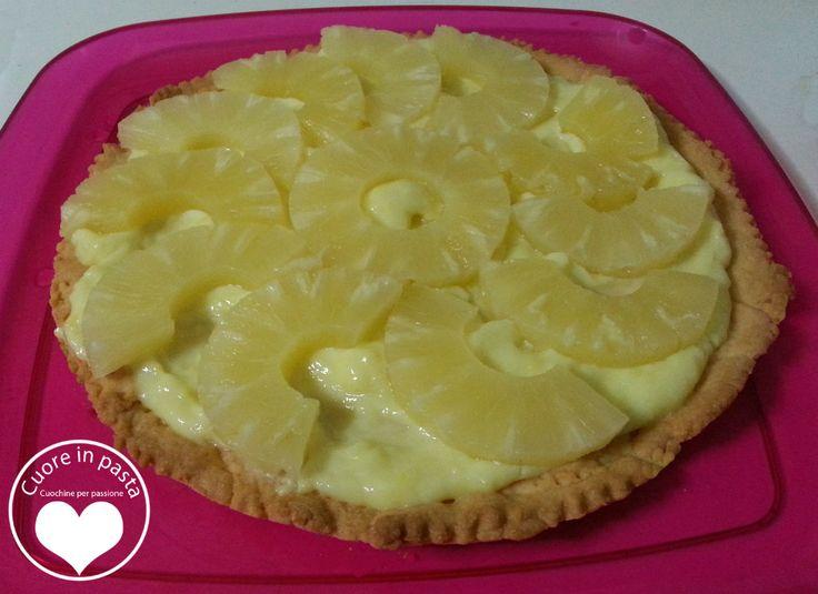 Crostata di ananas