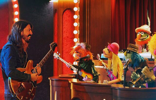 Hanging with the Muppets