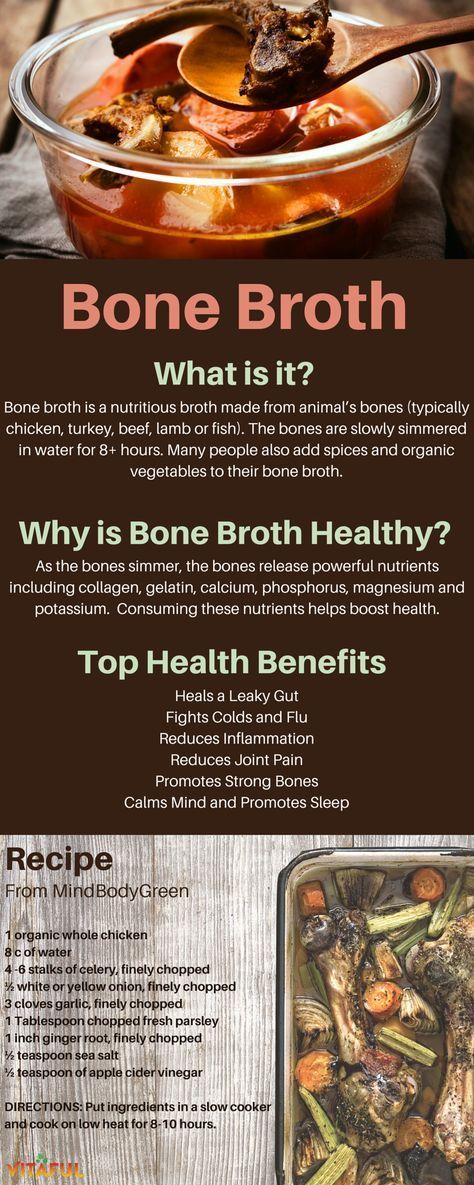 Bone Broth Fast Recipe 3 Day Detoxification