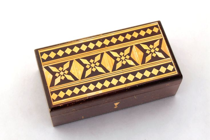Excited to share the latest addition to my #etsy shop: Jewelry Box, Treasury box, Wooden jewelry box 70s, Handmade box, Wood Jewelry Box, Folk Style, Folk Art, Unique Ornament, Trinket box http://etsy.me/2ocpRHT #furniture #storage #ornaments #vintage #collectibles #br