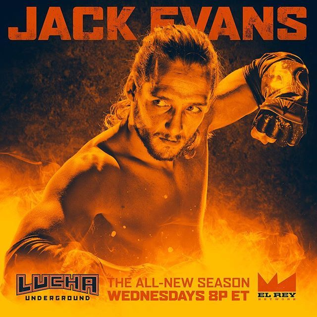 Lucha Underground @luchaunderground Jack Evans, the s...Instagram photo | Websta (Webstagram)